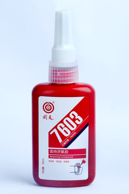 7603 Retaining anaerobict Cyanoacrylate Adhesives low viscosity , good oil content